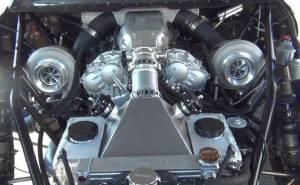 محرك V6 من نوع VR38 معدل بقوة 1,500 حصان