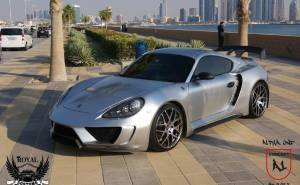 Alpha 1 based on Porsche Cayman