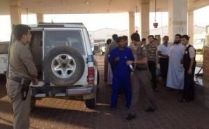 السلطات السعودية تغلق محطة وقود 4