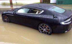 Aston Martin Rapide Accident