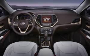 Jeep Cherokee Sageland Concept interior