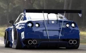 Nissan GTR نيسان جي تي ار معدلة من الخلف