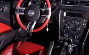 المقصورة الداخلية لموستنج GT