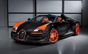 bugatti veryon grand sport vitesse wrc
