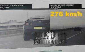 GTR speeding