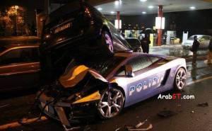 حادث لمبرجيني جالاردو شرطة إيطالية