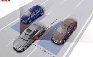 Mercedes-Blind-Spot-Monitor نظام مراقبة النقطة العمياء