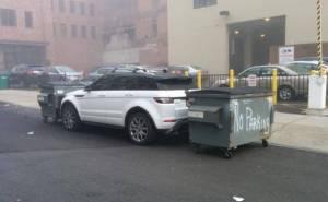 أغرب طرق لمعاقبة السيارات المركونة بطريقة خاطئة