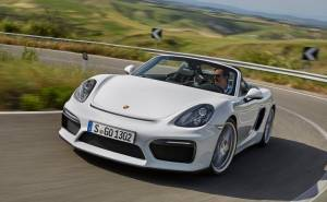 Porsche-Boxster_Spyder_2016 بورش بوكستر سبايدر