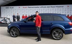 اودي توزع سيارات على لاعبي ريال مدريد