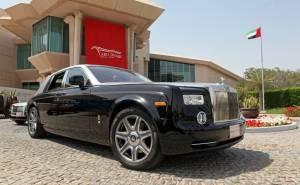Rolls Royce Ghost in Abu Dhabi UAE