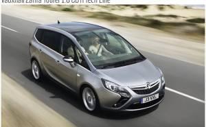 Vauxhall Zafira Tourer 1.6 CDTi Tech Line-فوكسهول زافيرا