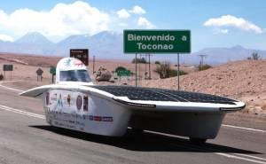 رالي للسيارات الشمسية