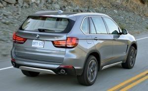 BMW X5 2014 زاوية خلفية