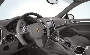 بورش كايين اس 2013-Porsche Cayenne S دركسيون-عجلة قيادة-طبلون-لوحة عدادات