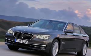 BMW 7 series بي ام دبليو الفئة السابعة-2013 الاطارات
