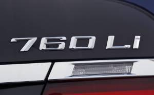 شعار بي ام دبليو الفئة السابعة 760Li 2013