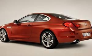 بي ام دبليو الفئة السادسة كوبيه BMW 6 Series Coupe 2012-من الخلف-المؤخرة
