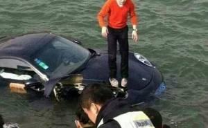 The sinking of the Porsche 911