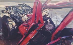 مرسيدس ام جي جي36 تتحطم وتقتل سائقها