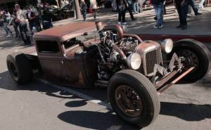 Ford model a rat rod