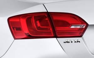 Volkswagen Jetta فولكس واغن جيتا 2013 الاضواء الخلفية