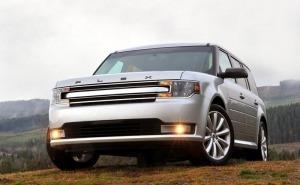 فورد فليكس-2014 Ford Flex-الشبك الامامي والاضواء