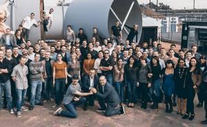 Hyperloop One team
