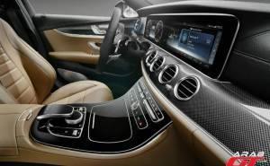 interior of Mercedes E-Class 2016