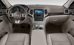 جيب غراند شيروكي Jeep Grand Cherokee-2012-المقصورة الداخلية