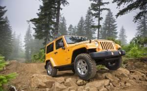 جيب رانجلر-Jeep Wrangler 2013- اطارات -الصدام الامامي-من المقدمة