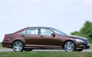 2010 Mercedes-Benz S63 مرسيدس بنز اس 63 ايه ام جي-الجنوط-من الجنب