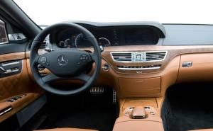 2010 Mercedes-Benz S63 مرسيدس بنز اس 63 ايه ام جي-المقصورة الداخلية