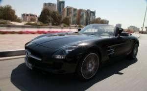 Mercedes SLS Roadster - مرسيدس اس ال اس المكشوفة