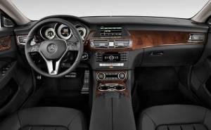 مرسيدس بنز سي ال اس 2012 Mercedes-Benz CLS-المقصورة الداخلية-التابلوه