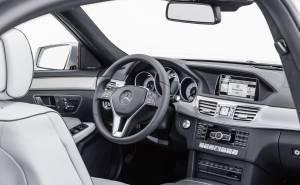 مرسيدس اي كلاس 2014 Mercedes E-Class -طبلون-دركسيون-عجلة قيادة-من الداخل