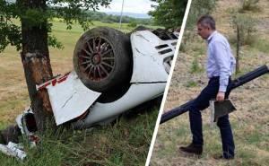 مستر بين يشارك في انقاذ حياة سائق ماكلارين تعرض لحادث