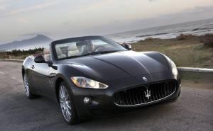 2011 Maserati Gran Cabrio مازيراتي جران كابريو-الواجهة الامامية