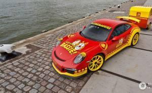 سيارة بورش 911 جي تي 3
