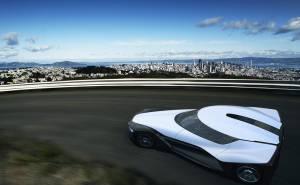 سيارة نيسان بليد غلايدر الاختبارية