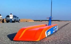 سيارة لاسلكية بسرعة 188 ميل