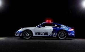 سيارة شرطة بورش