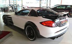 سيارة مرسيدس SLR فولكانو