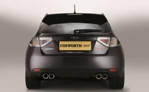 سوبارو امبريزا STI Cosworth CS400 2010 من الخلف