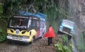 طريق بوليفي الخطير