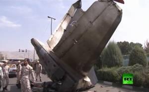 تحطم طائرة ايرانية على الطريق يخلف عشرات الضحايا