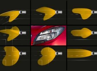 أضواء أمامية ذكية تتحرك مع عيون السائقين