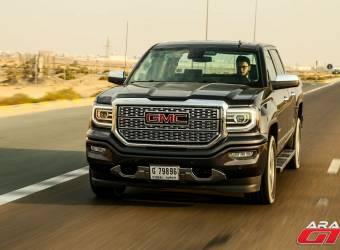 جي ام سي سييرا 2017 تحت تجربة عرب جي تي
