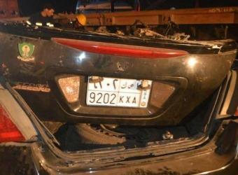 حادث بين شاحنة وسيارة هوندا يسفر عن وفاة 4 اشخاص بالسعودية