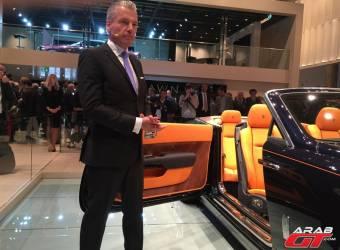 رئيس رولز رويس يهين أفخم وأسرع وأقوى سيارة SUV في العالم